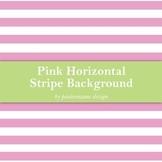 Pink Horizontal Stripe Background