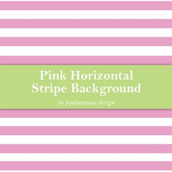 Pink Horizontal Stripe Background