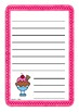 Pink Ice Cream Worksheets