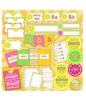 Pink Lemonade Classroom Design and organizaional kit