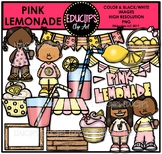 Pink Lemonade Clip Art Bundle {Educlips Clipart}
