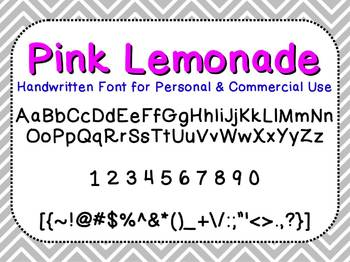 Pink Lemonade - FREE Font for Personal and Commercial Use