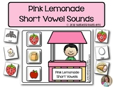 Pink Lemonade Short Vowel Sounds   | Phonics | Literacy