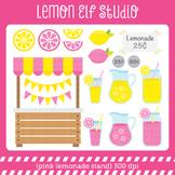 Pink Lemonade Stand-Digital Clipart (LES.CL15)