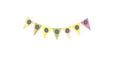 Pink Lemonade Welcome Pennant