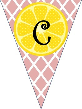 Pink Lemonade Welcome Sign