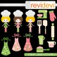 Pink Lime Kitchen Clip art