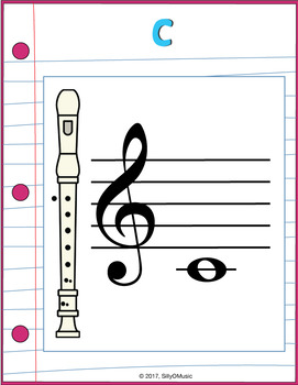 Pink & Loose Leaf Decor: Recorder Anchor Charts