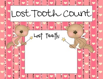 Pink Lost Tooth Count