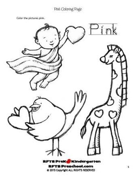 Pink Love (Simple Concepts to Print-n-Learn)