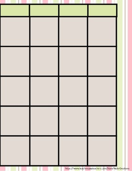 Pink Mint Teacher Binder/Lesson Plan Template- EDITABLE