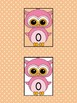 Pink Owl Full Page Math Number Posters 0-100