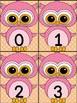 Pink Owl Math Number Flashcards 0-100