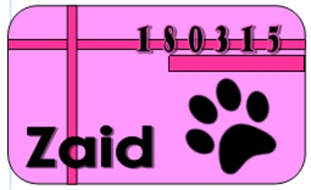 Pink Panther ID Cards
