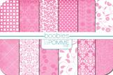 Pink Patterned Digital Paper Pack - October (Support Breast Cancer Awareness!)