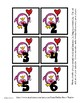 Pink Penguin Valentine themed Calendar Cover-Ups