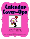 Pink Penguin Valentine themed Calendar Cover-Ups