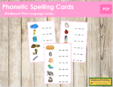 Pink: Phonetic Spelling Cards