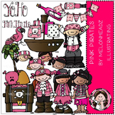 Pink Pirates clip art - by Melonheadz