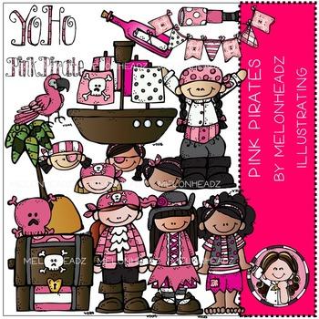 Pink Pirates clip art - by Melonheadz