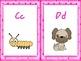 Pink Polka Dot Alphabet Cards