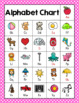 Pink Polka Dot Alphabet Posters & Word Wall Cards