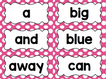 Pink Polka Dot Classroom Decor Bundle