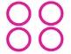 Pink Polka Dot Classroom Labels (Editable)