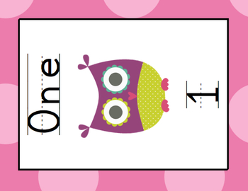 PINK Polkadot OWL Classroom Decoration - OVER 110 PAGES OF CLASSROOM ESSENTIALS
