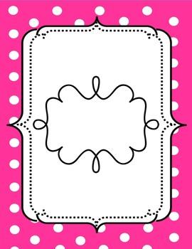 Pink Polkadot Cover