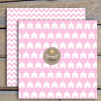 Pink Princess digital paper