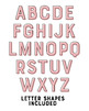 Pink Printable Alphabet Letter Posters