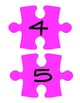 Pink Puzzle Piece Line Up Visual 1-30