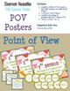 Pink Raccoon Themed ELA Essentials Poster BUNDLE + SPECIAL BONUSES!