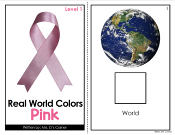 Pink - Real Life Colors Adapted Book Bundle | Real Picture Color Books