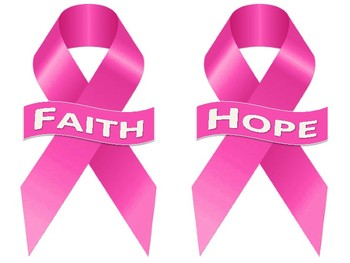 Pink Ribbon Set (Cut-outs, Name Plates, Topic Specific, etc.)