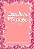 Pink Rose Teacher Planner/Binder 2017/18