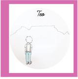 """Pink Serie Cursive Book """"TEO"""""""
