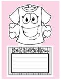 Pink Shirt Day Kindness Writing Craftivity