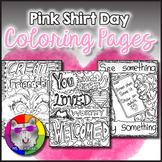 Pink Shirt Day, Anti-Bullying Awareness, Zen Doodle Colori