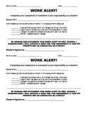 Pink Slip Work Alert