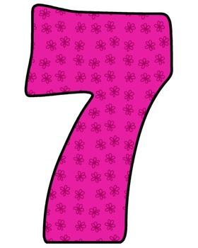 Pink Spring - Math {Clip Art}