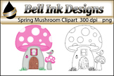 Pink Springtime Mushroom
