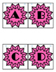 Pink Stained Glass Banner