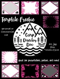 Pink Templates for Powerpoint, Keynote, posters, and more!