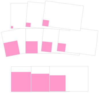 Pink Tower Cards - Cornered