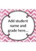 Pink Watercolour Assessment and Data Tracker- Kindergarten/Foundation/Prep