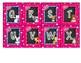 Pink Woodland Animal Alphabet Labels