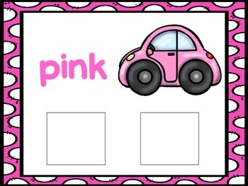 Pink-an interactive color book