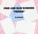 Pink and Blue Designs *FREEBIE*